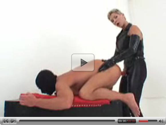 Mistress Pumps and Pegs Her Sub Part 2