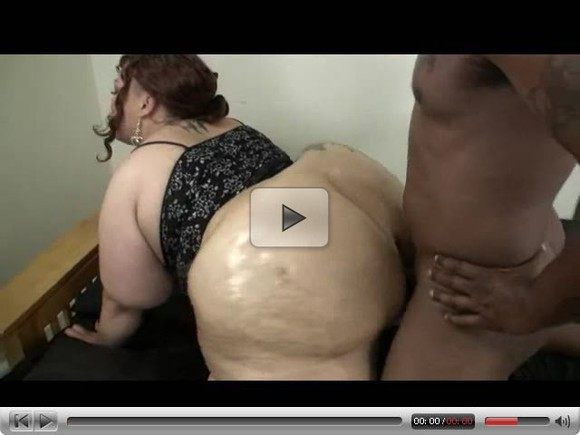 Black BBW Throwing That Ass Back