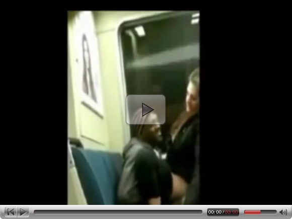 Blacked On the Train