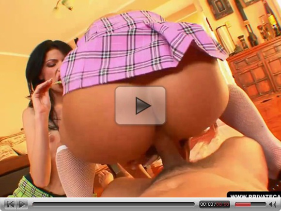 Anna King and Valentina Blue in privat