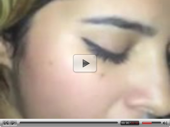 Sexy Arab teen blowjob and cum on face!