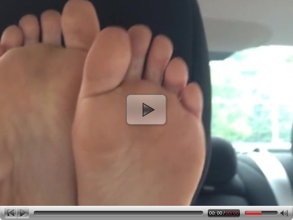 Soles Up in the Car – Day