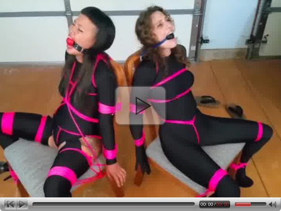 Girls Captured and Tied Up