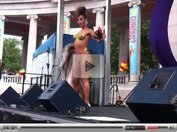 Carmen Carrera at Denver Pride