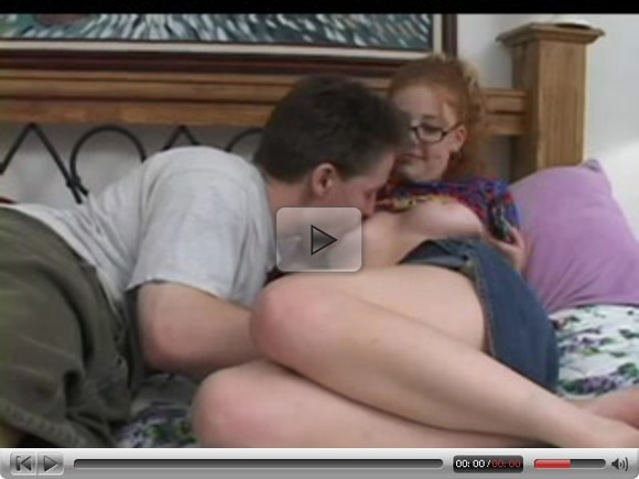 Hairy Ginger Teen Takes It In The Eyes !